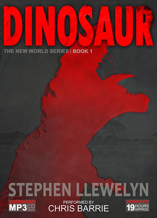 DINOSAUR by Stephen Llewelyn book cover in audiobook format