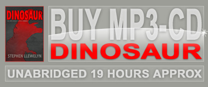 Dinosaur MP3-CD Audiobook by Stephen Llewelyn, read by Chris Barrie (Red Dwarf)