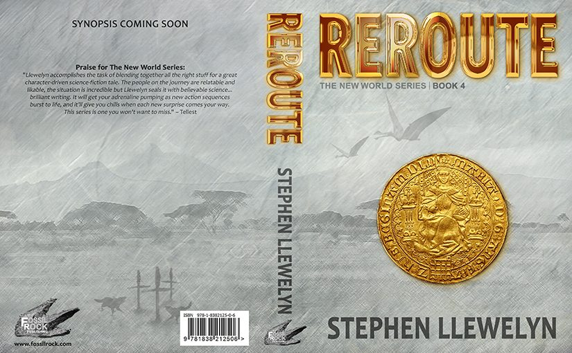 REROUTE by Stephen Llewelyn. Pre-order now from Amazon.